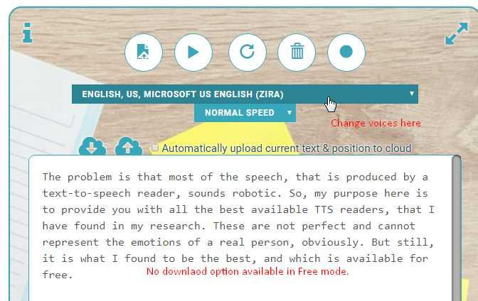 realistic text to speech online free unlimited mp3 downloadable